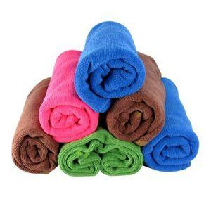 Microfiber Towel Hair Towel Hand Towel 40*40 pictures & photos