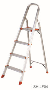 Step Stool Foldable Aluminum Ladder (SH-LF04) pictures & photos