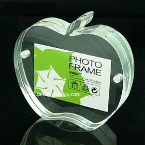Acrylic Double Sided Organic Glass Photo Frame (BTR-U1081) pictures & photos
