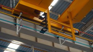 Widely Used Double Girder Overhead Crane with Electric Hoist Lifting Machinery pictures & photos