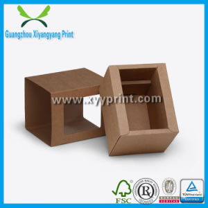 Custom Food Packaging Kraft Paper Storage Box pictures & photos