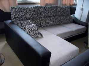 Fabric Combination Sofa Bed (CF6482)