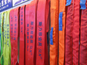 Safety Factor 5: 1 2tx1m 100% Polyester Endless Lifting Belt pictures & photos