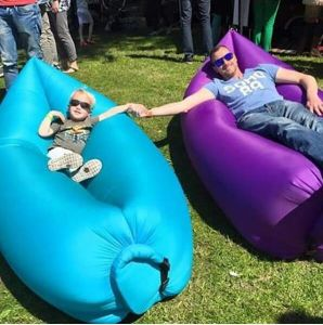Hangout Inflatable Bag Air Sleeping Bag Hangout Lamzac pictures & photos