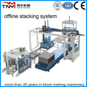 Automatic Block Making Machinery Production Line (offline stacking system) pictures & photos