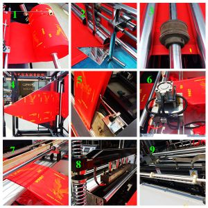 The Best-Selling Model of Full Automatic Non-Woven Fabric Bag Making Machine pictures & photos