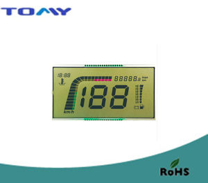 Htn Reflective LCD Display for Motorcycle pictures & photos
