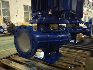 Vertical Centrifugal Pipeline Pump with Ce Certificate pictures & photos
