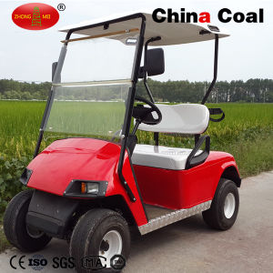 Factory Price 2 Seat Electric Motorcycle Solar Golf Car pictures & photos