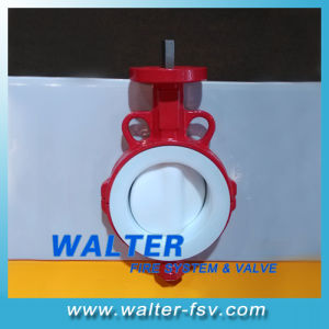 Anti-Corrosion PTFE Butterfly Valve pictures & photos