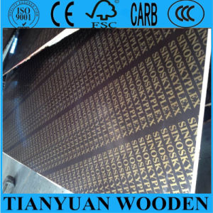 12mm/15mm/18mm Film Construction Plywood/Ffp/Concrete Formwork Plywood pictures & photos