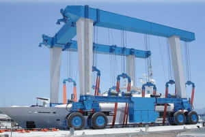 Marine Yard Mobile Boat Lifting Equipment pictures & photos