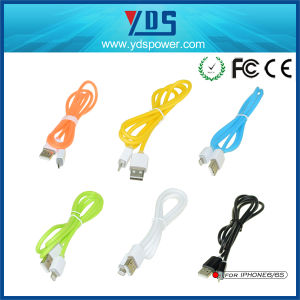 Micro-USB Wholesale Data USB Cable for iPhone pictures & photos