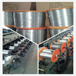 0.8mm and 0.5mm Galvanized Wire pictures & photos