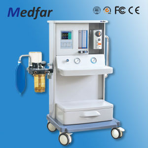 CE Medical Approved Advanced Multi-Function ICU Anesthesia Machine with Ventilator pictures & photos