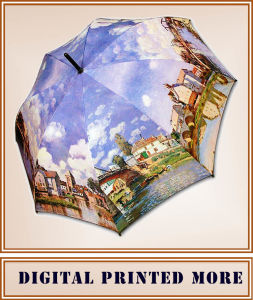New 2017 High Quality Custom Printed Umbrella pictures & photos