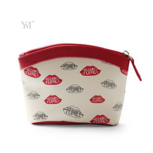 Ladies Fashion Design PVC Leather Cosmetic Makeup Bag pictures & photos