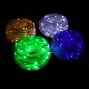 Waterproof 100 LEDs Solar Power Christmas Light Waterproof LED Solar Rope Light pictures & photos