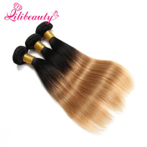 7A Ombre Straight Wholesale 100% Virgin Malaysian Hair pictures & photos