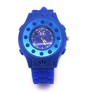 C5 Quad Band GSM Wrist Watch Phone for Kids Single SIM Sos Bluetooth a-GPS