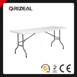 Orizeal 6-Foot Foldable Plastic Outdoor Table Oz-T2017 pictures & photos