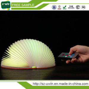 Folding LED Night Light Creative LED Book Light Lamp pictures & photos