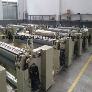 China High Speed Polyester Fabric Water Jet Loom Machine with Cam Shedding pictures & photos