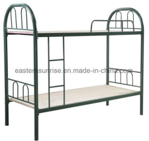Cheap Price Heavy Duty Metal Student Home Hotel Army Bunk Bed pictures & photos