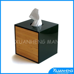 Glossy Lacquer Tissue Bamboo Box pictures & photos
