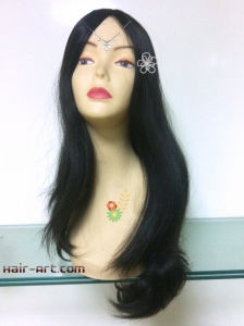 "Full Lace 100% Human Hair Wigs-24"" pictures & photos"