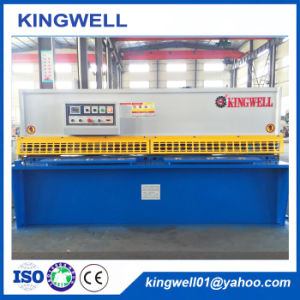 CNC Hydraulic Swing Beam Metal Sheet Plate Shearing Machine pictures & photos