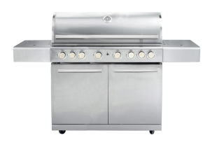 8 Burner Stainless Steel Barbecue Gas Grill