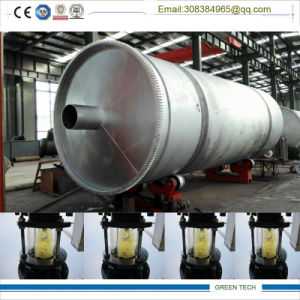 Tire to Oil Refining Plant Pyrolysis and Distillation Combined pictures & photos