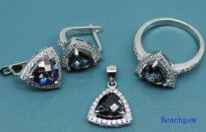 Fashion Mystic Cubic Zirconia Jewellery Set (S3306) pictures & photos
