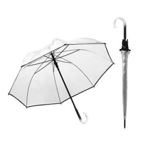 OEM High Quality New Design Clear Transparent Umbrella (BR-ST-193) pictures & photos