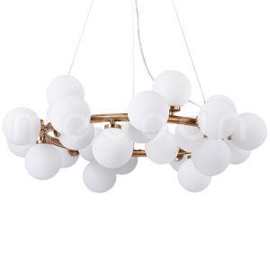 Modern Glass Ball Molecule Circular Pendant Light for Living Room pictures & photos