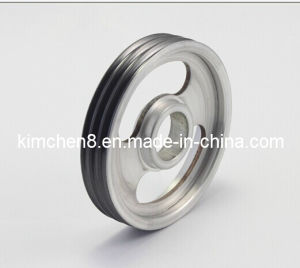 Enamelling Machine Ceramic Coated Pulley D65*H38 (Aluminum pulley with ceramic coating) pictures & photos