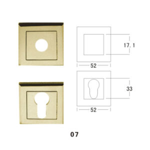 Zinc Alloy Escutcheon (07) pictures & photos
