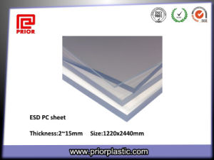 Polycarbonate Sheet ESD PC, Coated Two Sides pictures & photos