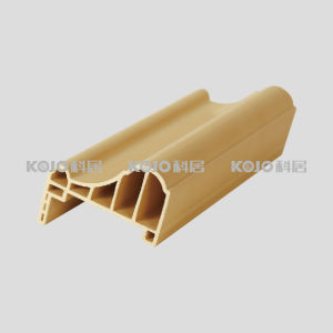 Eco-Friendly WPC Architrave with SGS Certificate 5.8mm (CM-8038A) pictures & photos