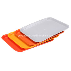 Plastic Fast Food Tray / School Serving Tray pictures & photos