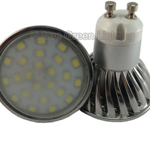 LED GU10 Lamp 4W 400lm 24PC 2835SMD LED pictures & photos