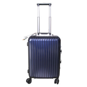 100% PC Luggage Trolley Case Suitcase 3jb001 pictures & photos
