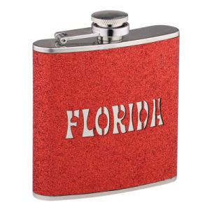 SGS Approved Stainless Steel Hip Flask (QL-BP06G)