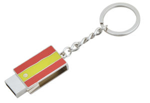 Custom Metal USB Key Chain with Key Ring (GZHY-KC-064) pictures & photos