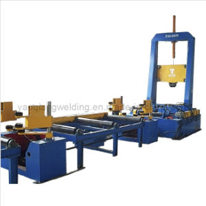Profile Steel H Beam Aligning and Spot Welding Assembly Machine pictures & photos