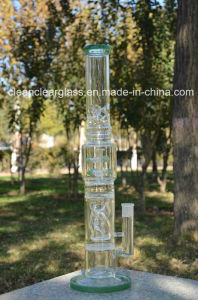 Newest High Quality USA Color Glass Bon Glass Water Pipe with Creative Perc