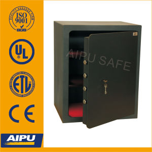 Single Wall Home & Office Safes by Laser Cut Door with Double Bitted Key Lock (LSC645-K / 645 X 525 X 420 mm) pictures & photos