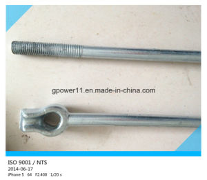 Electrical Line Fitting Pole Anchor Rod pictures & photos