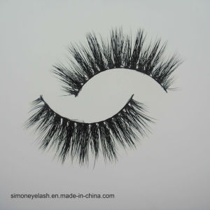 Fashion Lash Black Cotton Full Strip Mink Eyelashes for Makeup pictures & photos